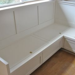 Kitchen Benches With Storage White Distressed Cabinets Image Of Bench Seating Plans