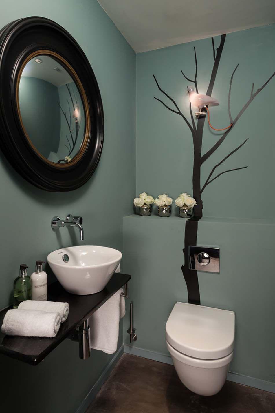 Ides de dcoration inspirantes pour rendre nos toilettes surprenantes  Toilettes modernes