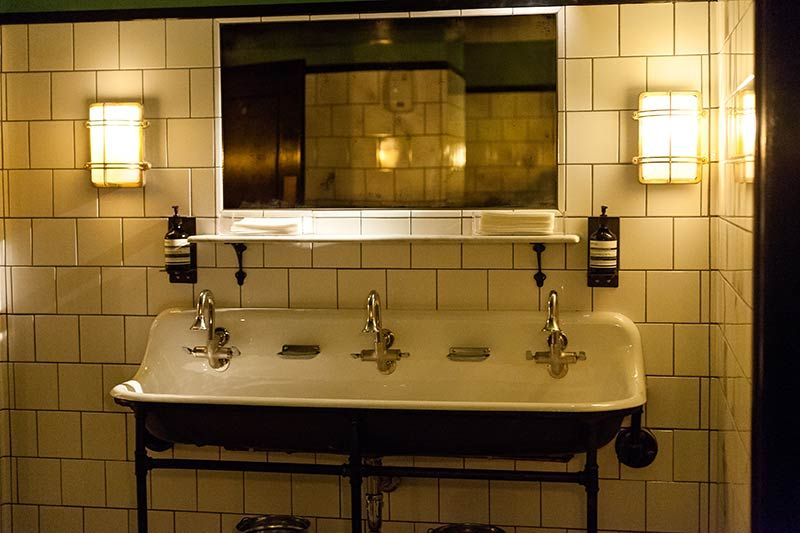 restaurant bathrooms - google search | bathrooms | pinterest