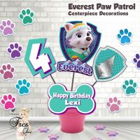 Everest Paw Patrol Birthday Decorations,Everest Large ...