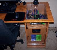 Custom Gaming Computer Desk | Gaming Desk | Pinterest ...