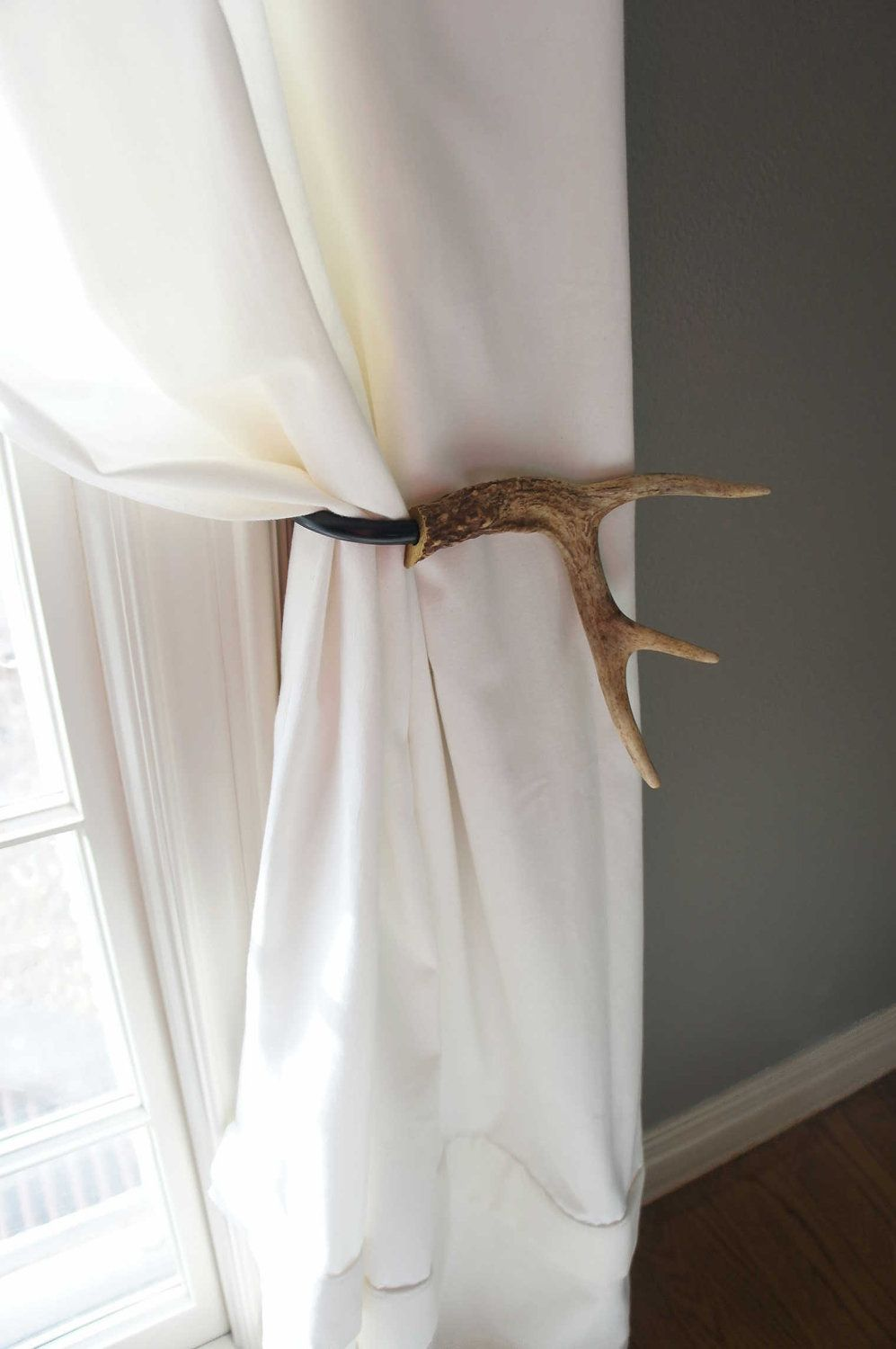 How To Hang Curtain Tie Backs