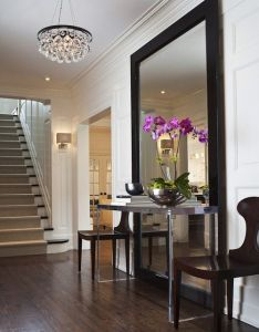 Entrance halls also table over mirror  place to call home pinterest foyers rh