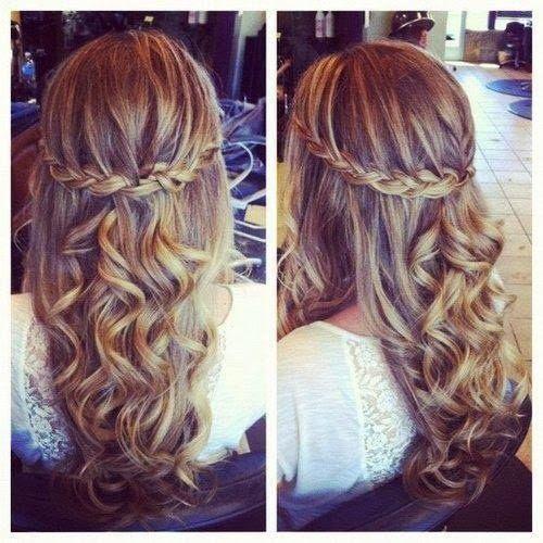 Hairstyles Prom Tumblr GlobezHair Prom Pinterest Hair