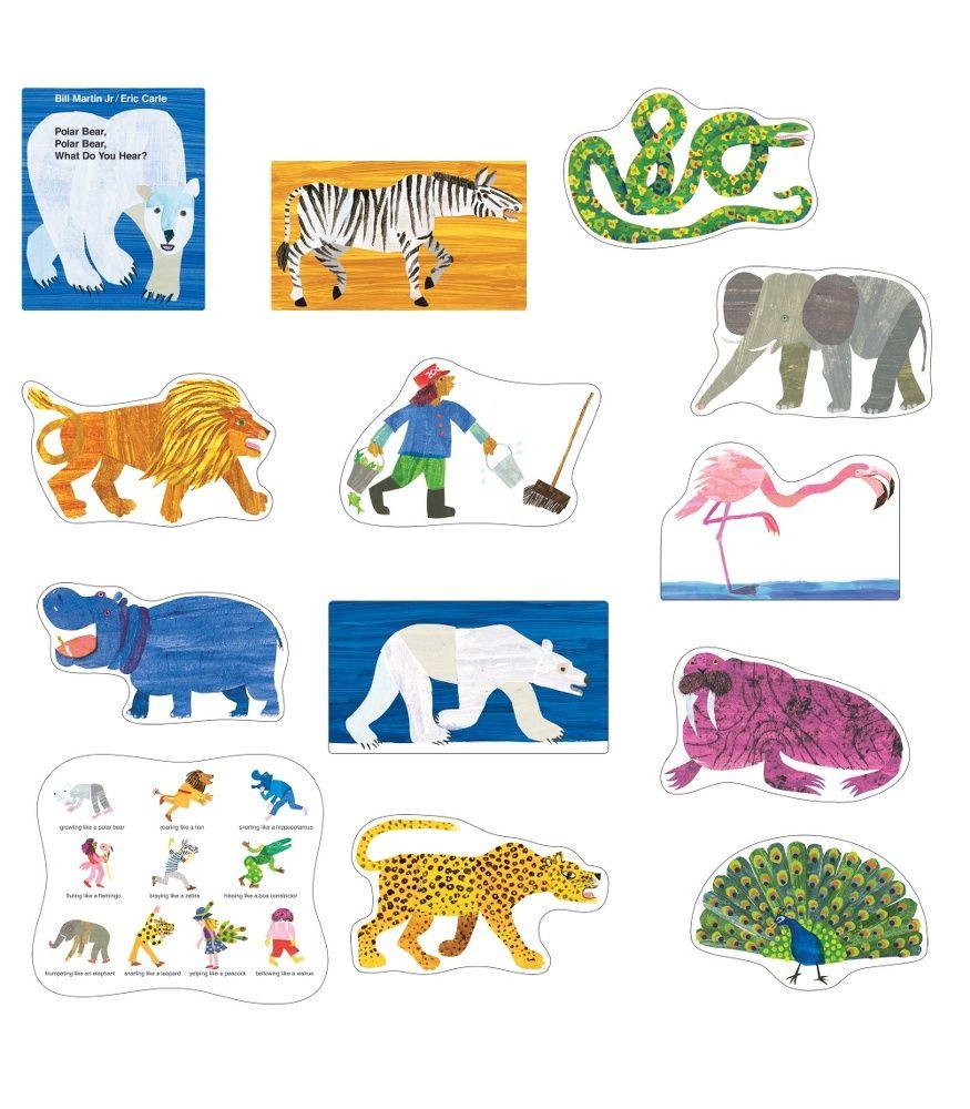 What Do You Hear Polar Bear Polar Cards Bear Sequencing