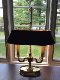 Beautiful French Bouillotte Candlestick Table Lamp by ...
