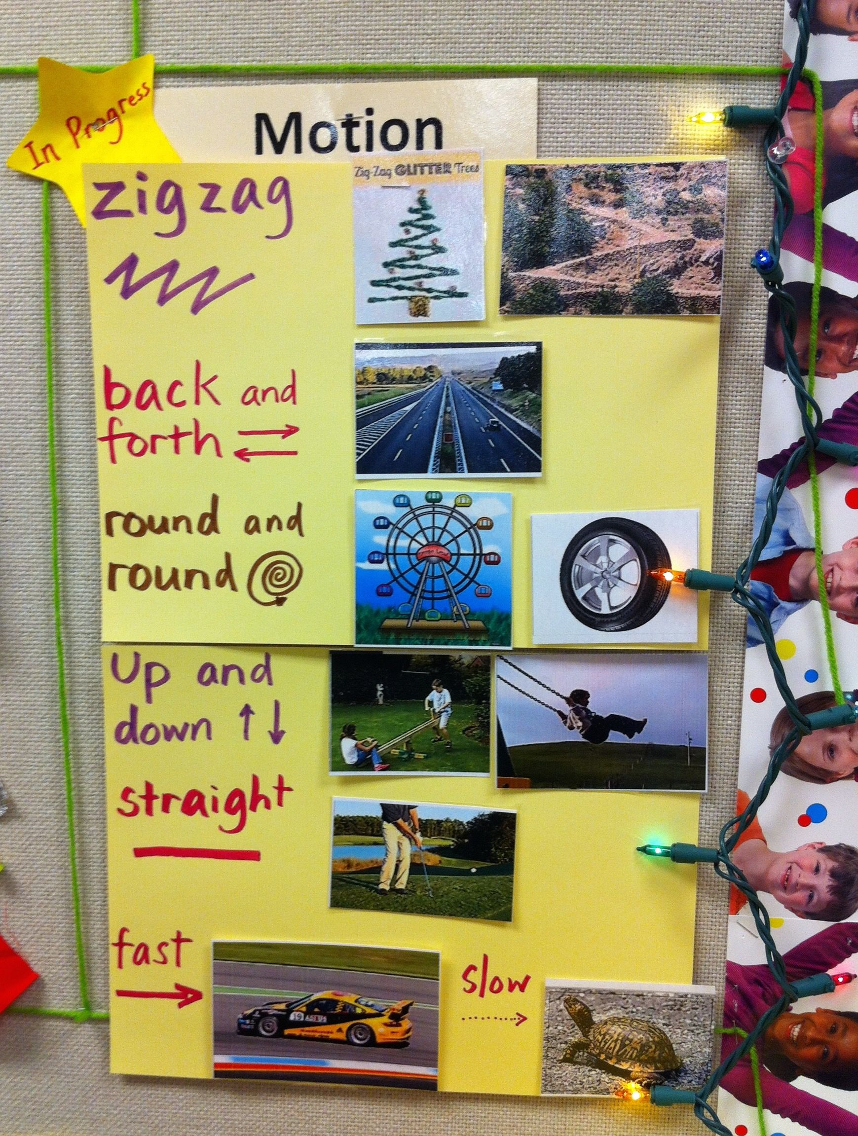 Science Teks K 6d Observe And Describe Ways That Objects Move Rrisd Science Toolkit