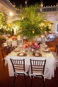 Elegant Tropical Wedding Reception | Havana nights ...