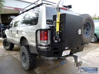 Aluminum Off Road Rear Bumper, Roof Rack, and Expedition