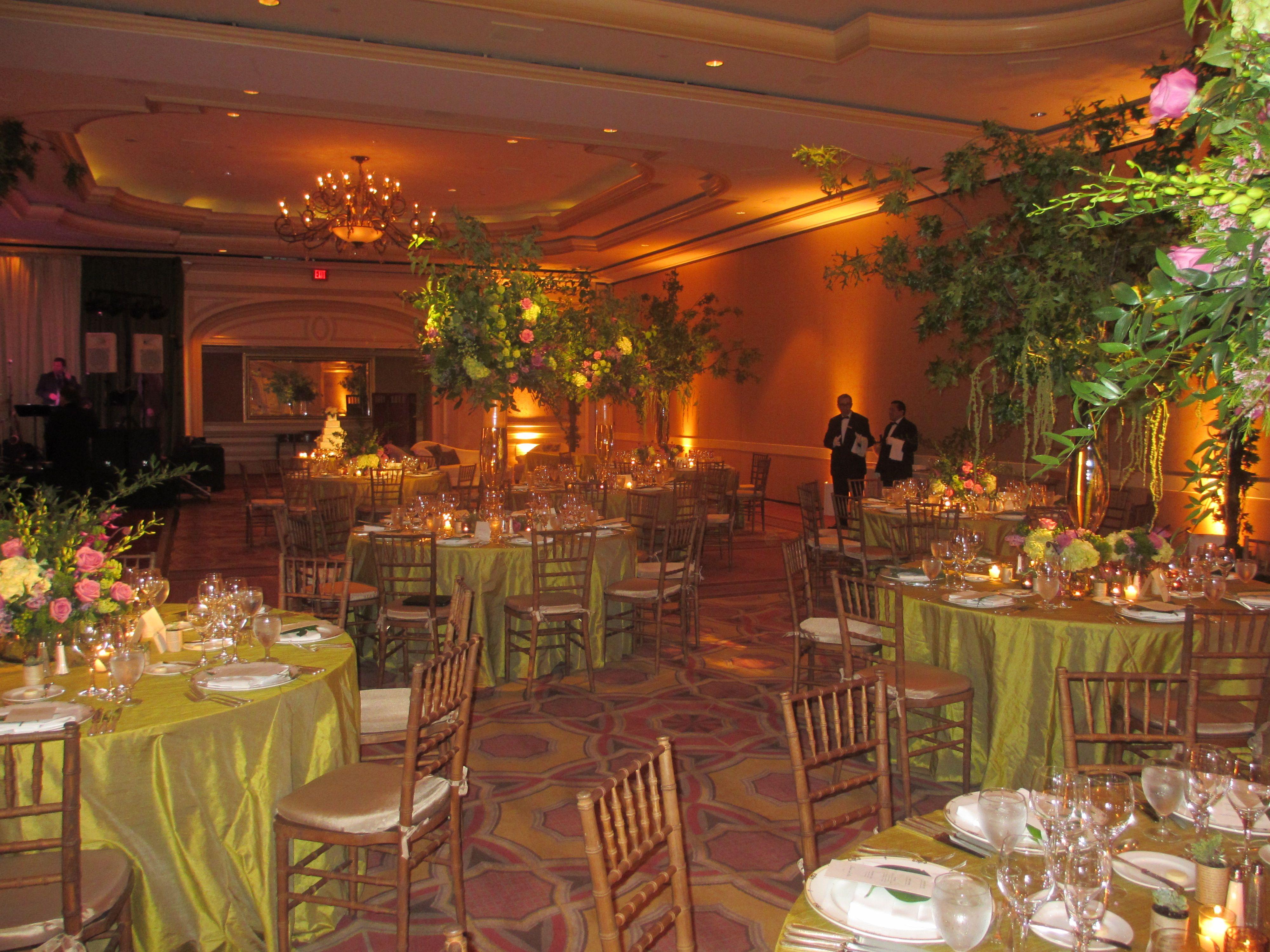 Enchanted Garden Themed Wedding