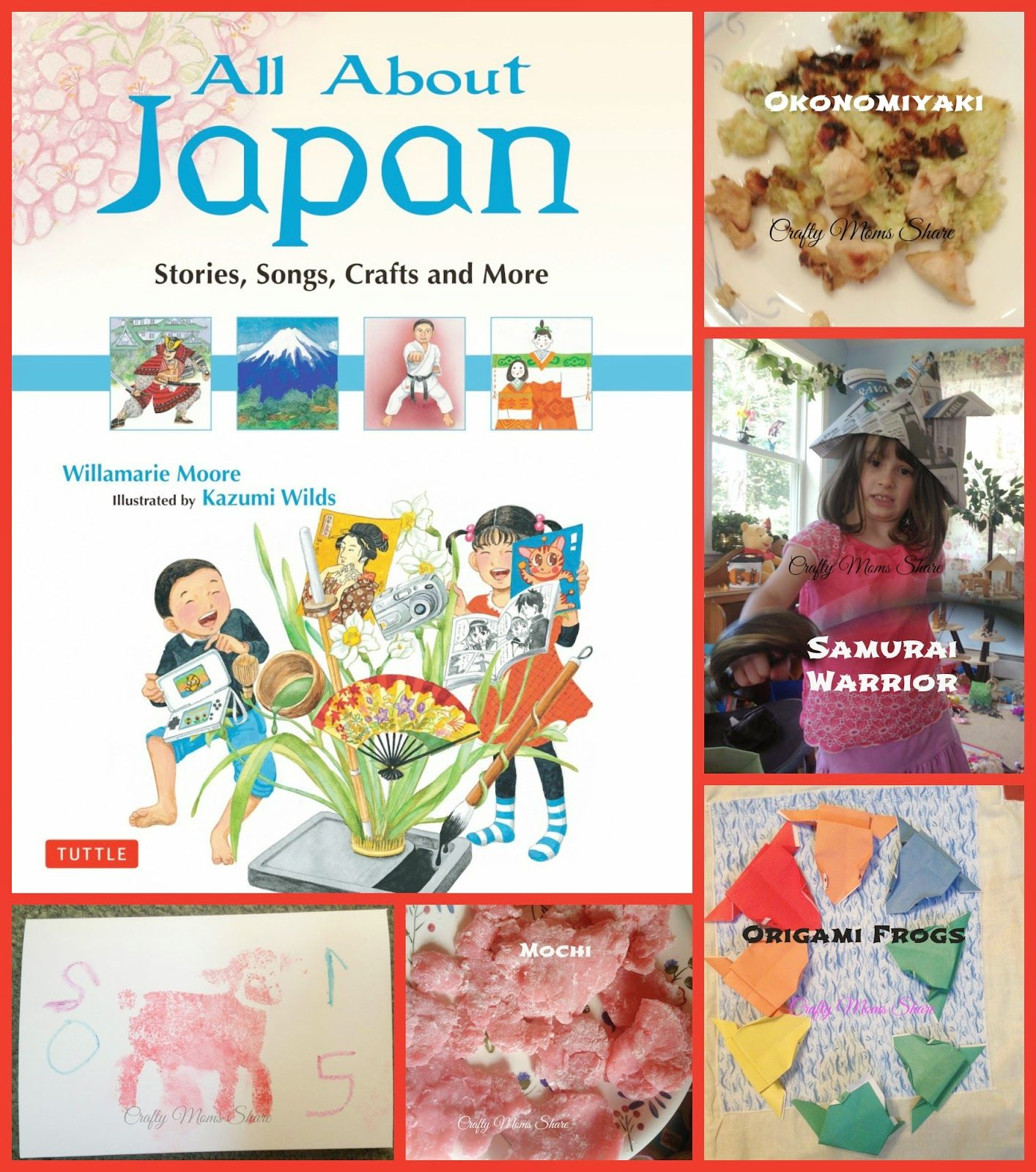 Crafty Moms Share All About Japan By Willamarie Moore