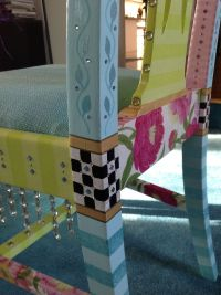Whimsical Handpainted Furniture Hand painted pair of ...