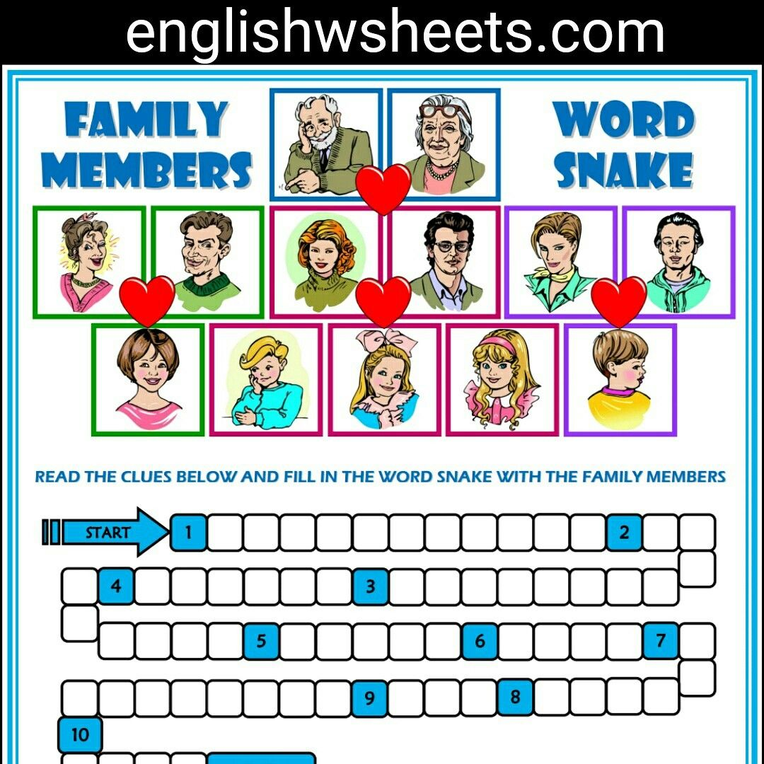 Snake Worksheets For Kids