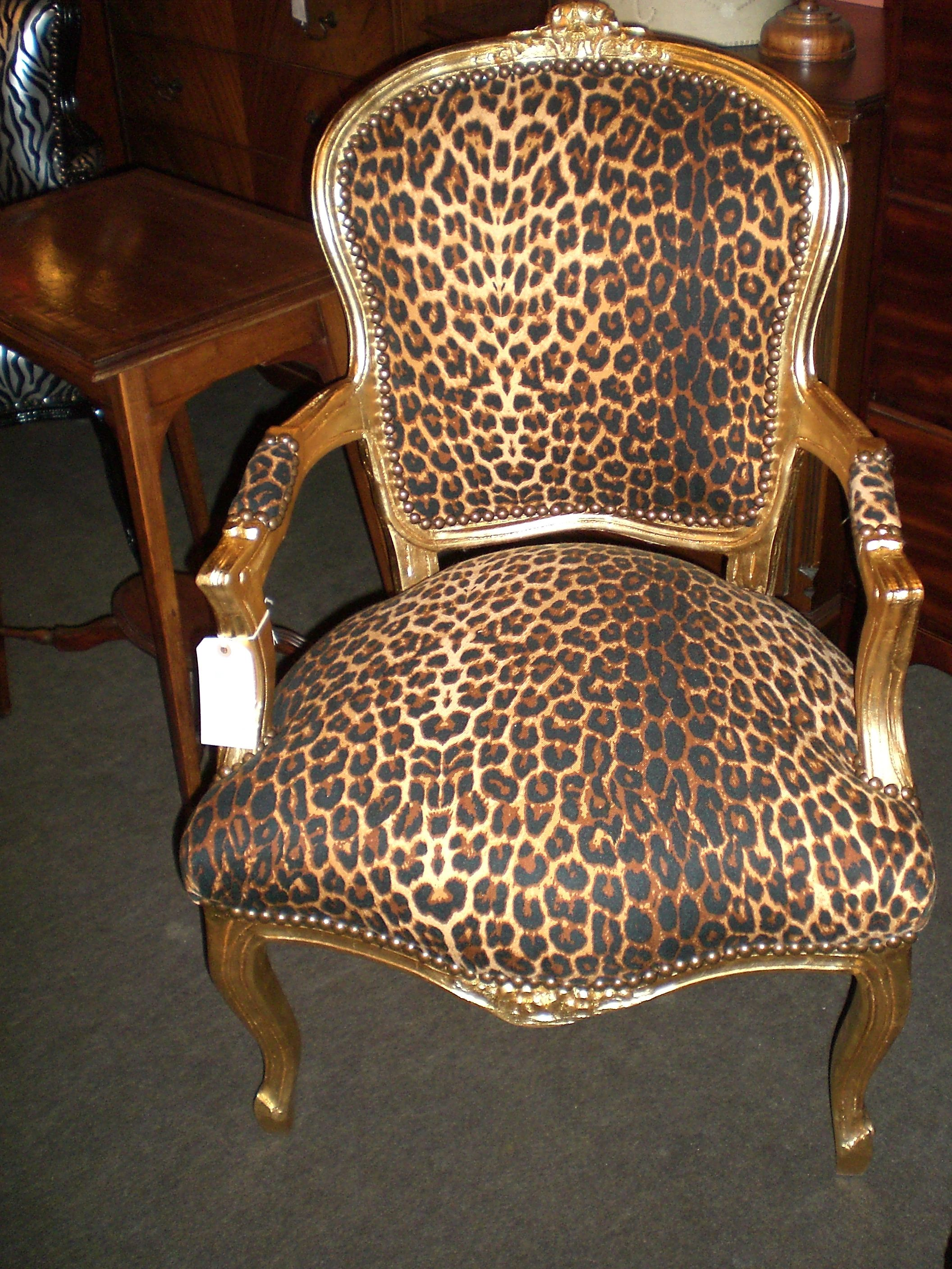 Animal Print Dining Chairs Glamorous Animal Print Accent Chairs Collection