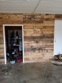 From boring to AWESOME! Clad your garage walls and create ...