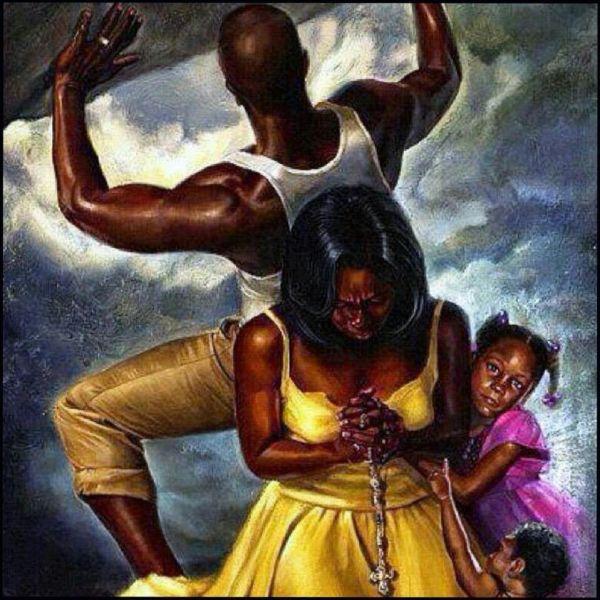 Pictures of Praying Black Art African American Women