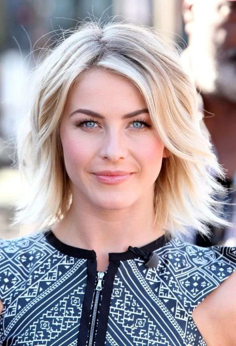 Ideen Für Haarstyling Für Mittellange Haare Julianne Hough Mit