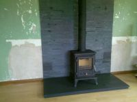 slate tile hearth   ... Firefox 5 with slate panelling on ...