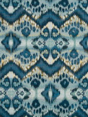 Blue Home Decor Fabric Tribal Cotton Fabric Designer Navy Blue