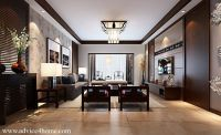 white coffee ceiling pop design and wall design in living ...