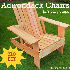 Diy Adirondack Chair Kit Crocker Company Chairs Has Step By Photos And Uses