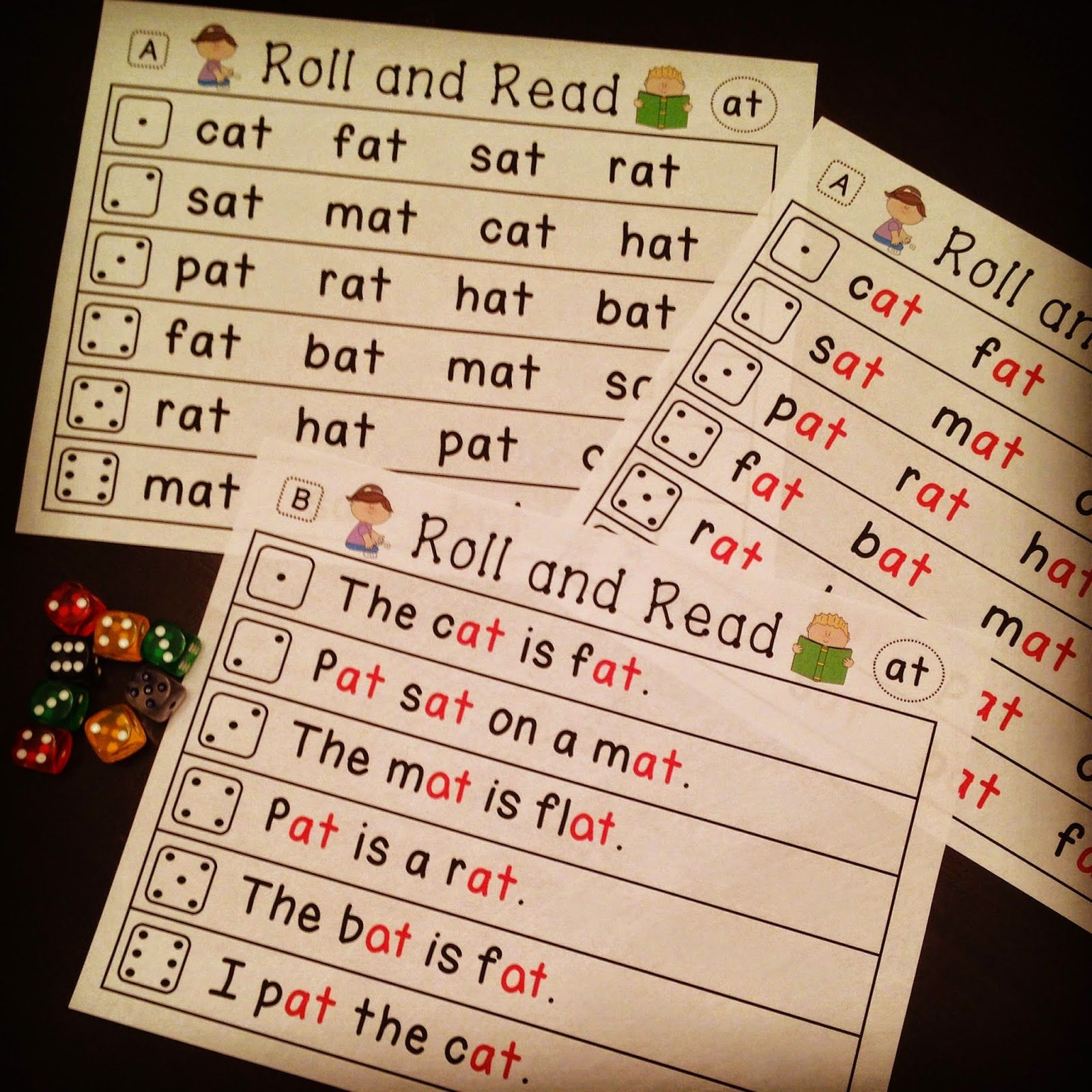 Word Families Center That Is Differentiated And So Much