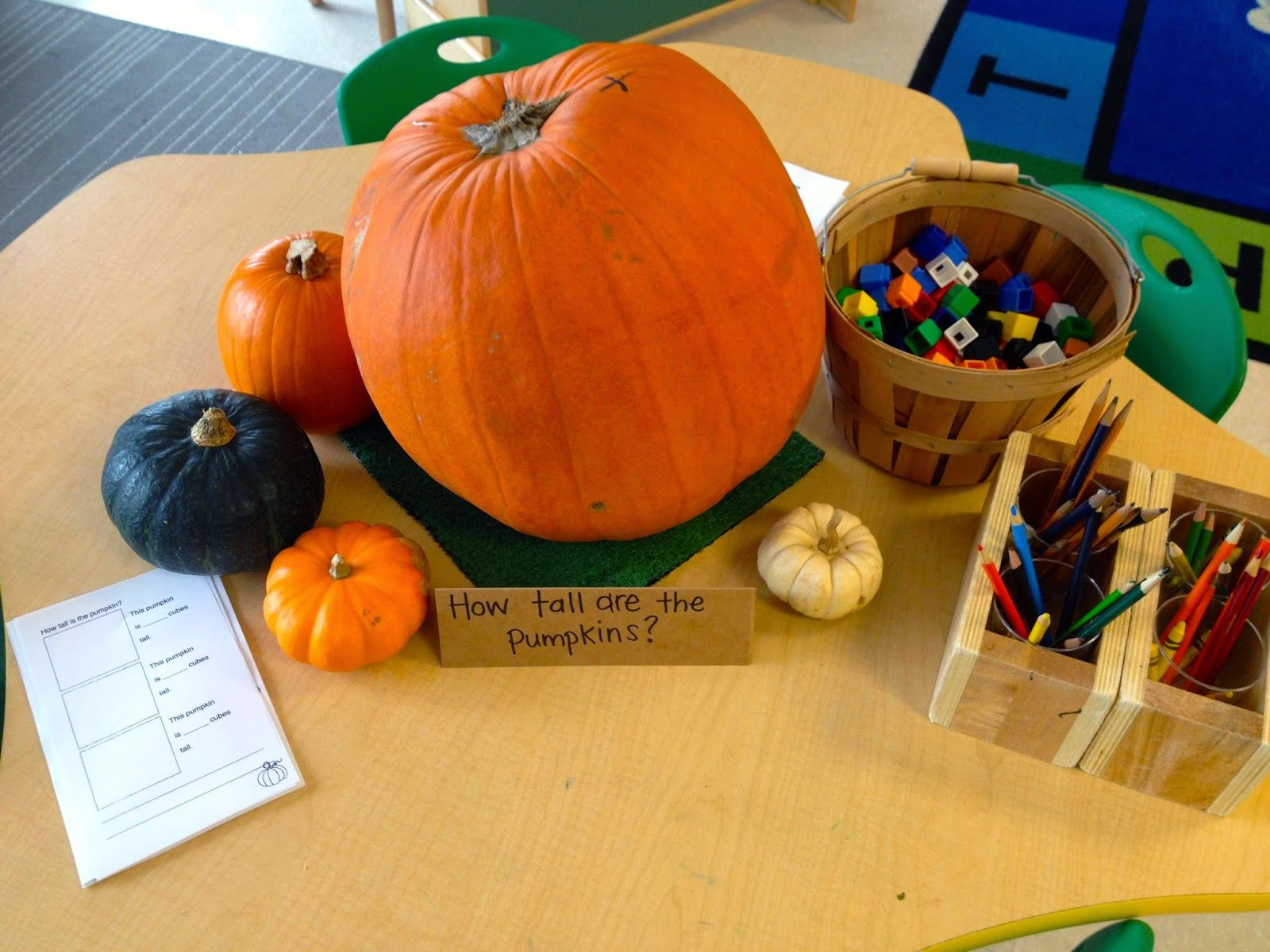 Thinking And Learning In Room 122 Pumpkin Math