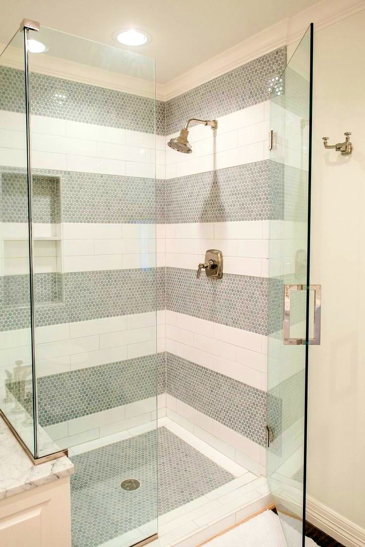 BathroomExciting Ideas About White Tile Shower Tiles