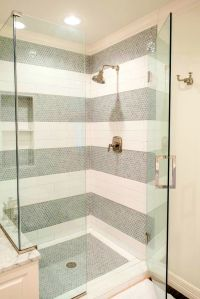 Bathroom:Exciting Ideas About White Tile Shower Tiles