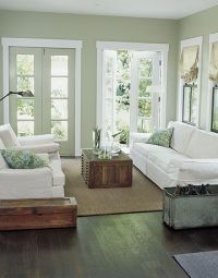 10 Ways to Decorate with White | Sage green walls, Green ...
