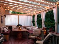 Cheap Patio Cover In Backyard Ideas With Deck : Cool Cozy ...