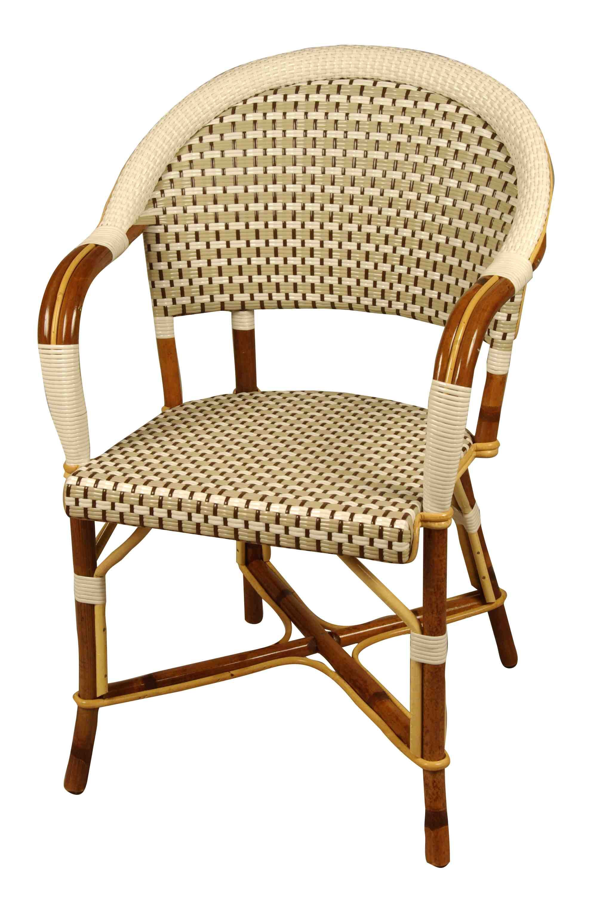 French Cafe Chairs Drucker Fauteuil Bastille French Bistro Chair From