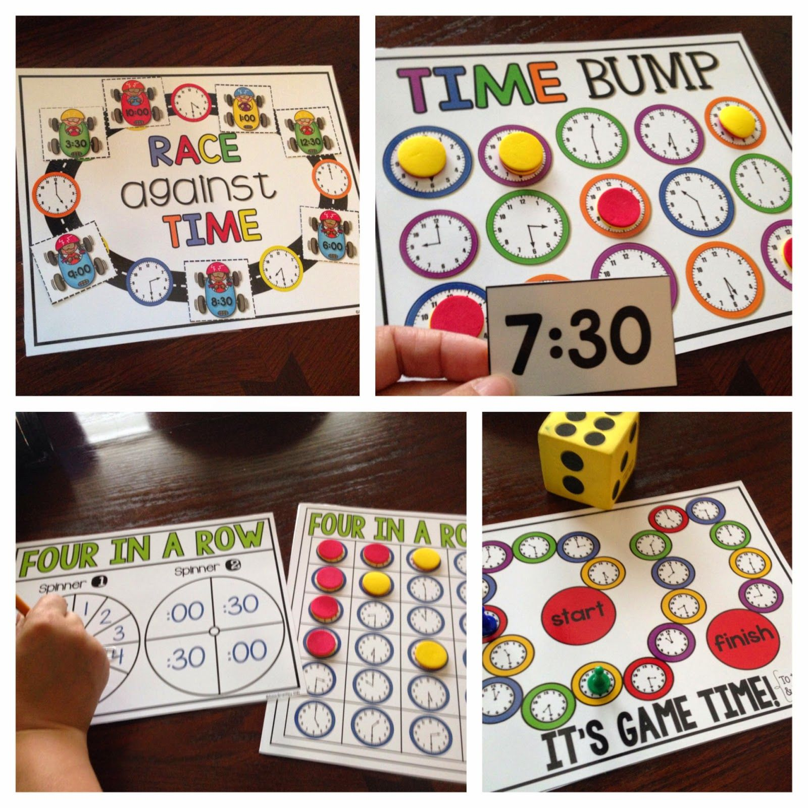 Crazy For First Grade Let S Practice Telling Time With Free Download