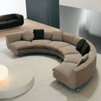 Curved/Round Shaped Sectional Sofa