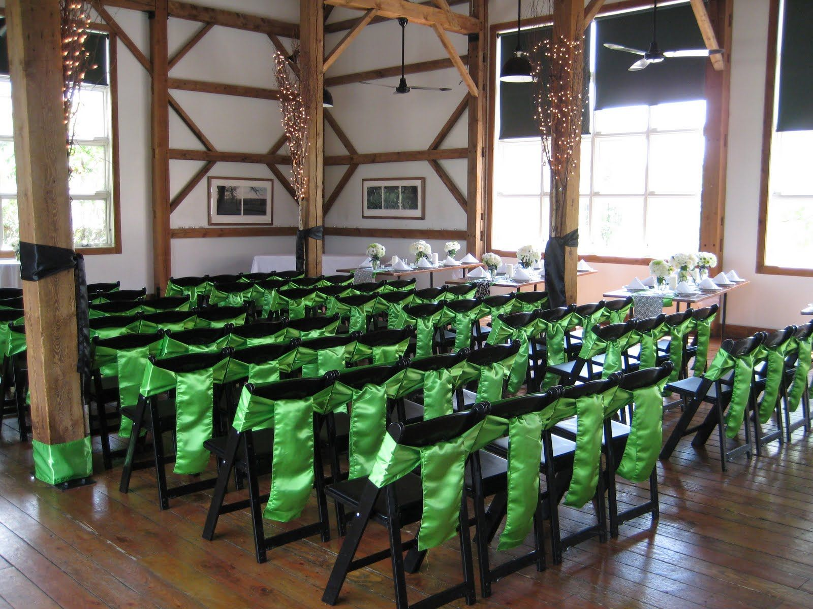 wedding decorations chairs receptions pool lounge chair cushions cute idea for decorating metal folding