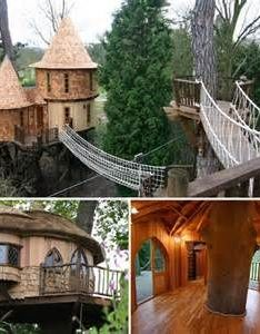 Awesome treehouse in faerie magazine also inside my head pinterest and backyard rh za