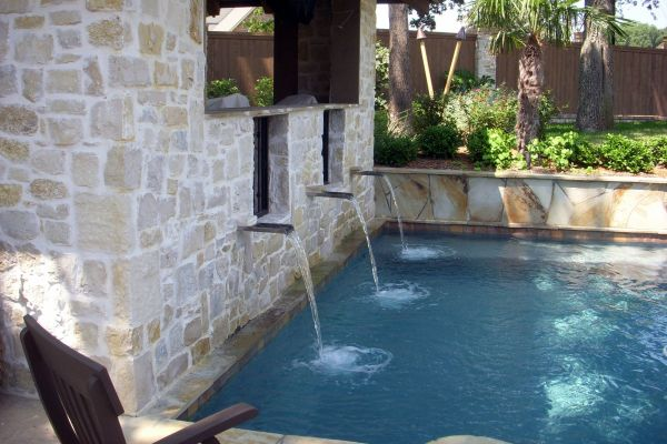 Pool Scupper Water Feature