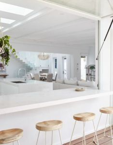 Interiors also servery indoor outdoor table how  designed my dream kitchen rh pinterest