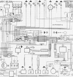harley davidson 1991 93 flstc flhs wiring diagram service manual free download schematics  [ 1268 x 968 Pixel ]