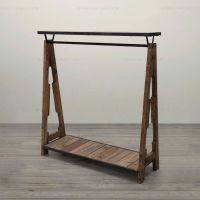 Special combination of retro clothing racks , wrought iron ...