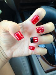 mickey mouse nails #disney #world