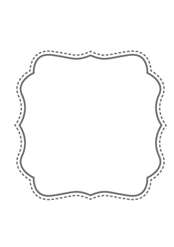 printable bracket frame. Get Free Printable Frame Templates From Designsprinkleideas Bracket