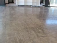 concrete floor finishes | ... Limestone Concrete + Exposed ...