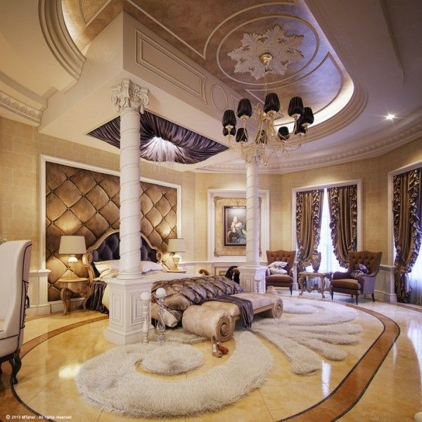 13 glam luxury bedroom design ideas | luxurious bedrooms, bedrooms
