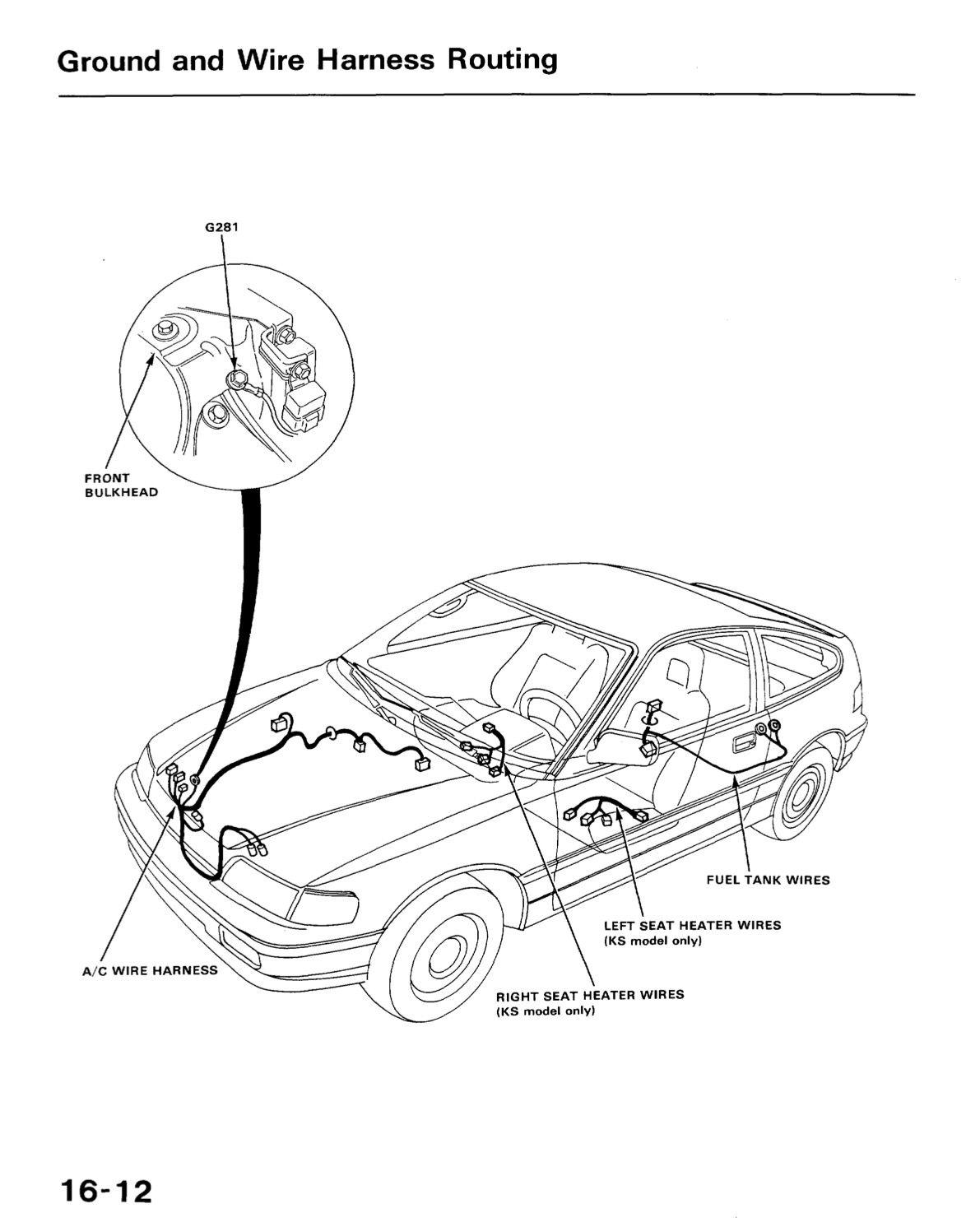 Ground wire harness diagram media honda co