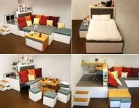 Modern Furniture for Small Spaces | House beautiful, Small ...