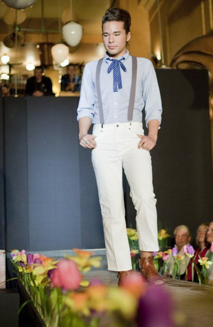 Men Can Have Some Fun Too! Diggin This Look For A Garden Party