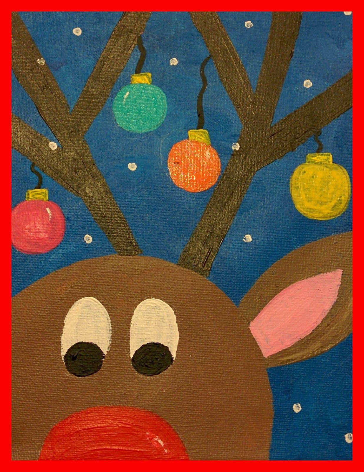 Winter Toddlers Artwork