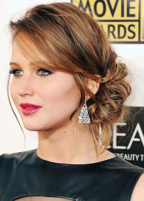 How To Match Your Hairstyle To Your Dress Medium Hairstyle And