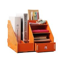 Desktop File Holder, Stationery Organiser Desk Tidy Made